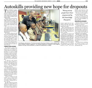Autoskills providing new hope for dropouts