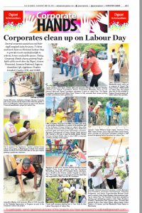 Corporates clean up on Labour Day