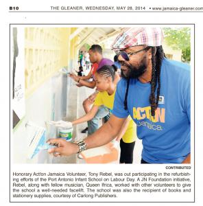Honorary Act!on Jamaica Volunteer