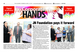 JN Foundation pays it forward
