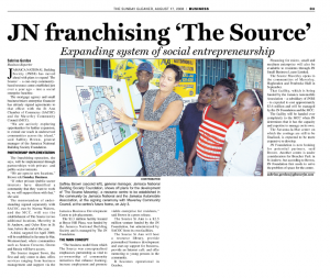 JN franchising 'The Source'