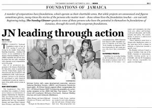JN leading through action