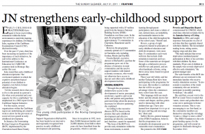 JN strengthens early-childhood support