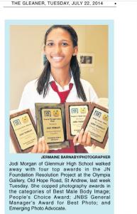 Jodi Morgan of Glenmuir High