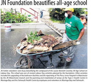 JN Foundation beautifies all-age school
