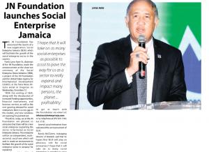 JN Foundation launches Social Enterprise Jamaica