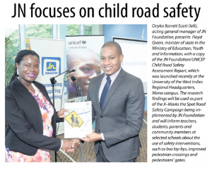JN focuses on child road safety