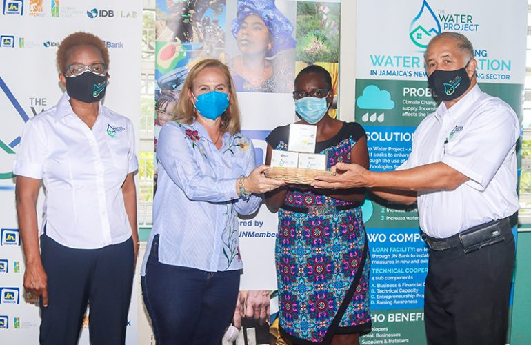 JN Foundation Donates Water Conservation Devices to the Wortley Home for Girls